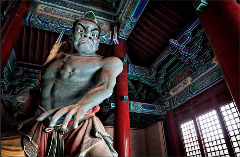 O desenvolvimento do Budismo através do Kung Fu