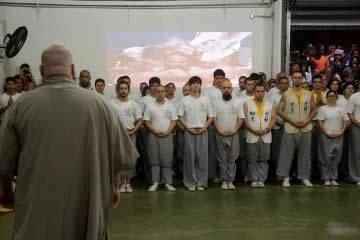 Cerimônia de discipulado e graduação