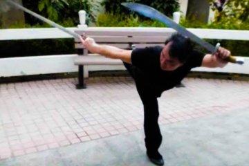 Armas exóticas do Kung Fu – Sifu Teddy Lai