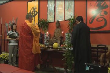 Cerimônia de Benção do Templo Lohan