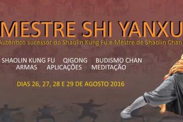Mestre Shi Yanxu no Brasil
