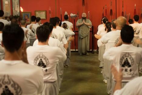 Curso de formação Shaolin – Segunda chamada