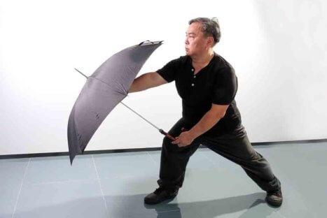 Curso de guarda chuva Teddy Lai