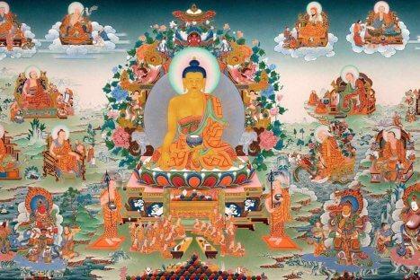 Iluminação de Buda – Festival Laba 臘八節