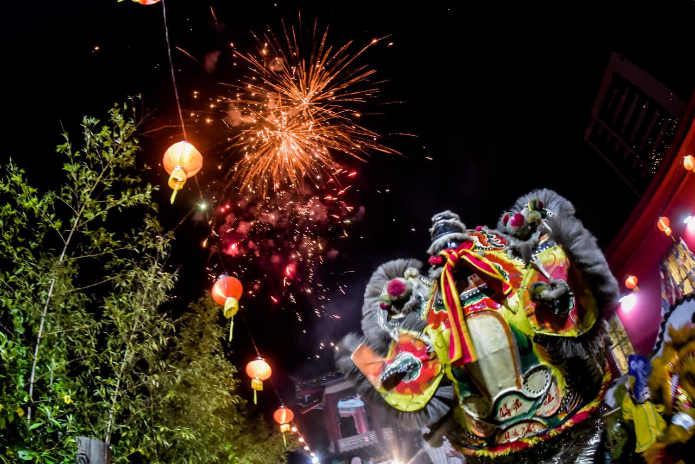 Véspera de ano novo chinês 2019