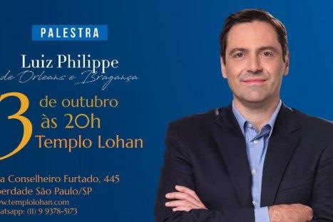 Palestra com Luiz Philippe de Orleans e Bragança